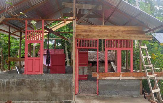 Rumah Ibu Syarifah Mulai  di Bangun