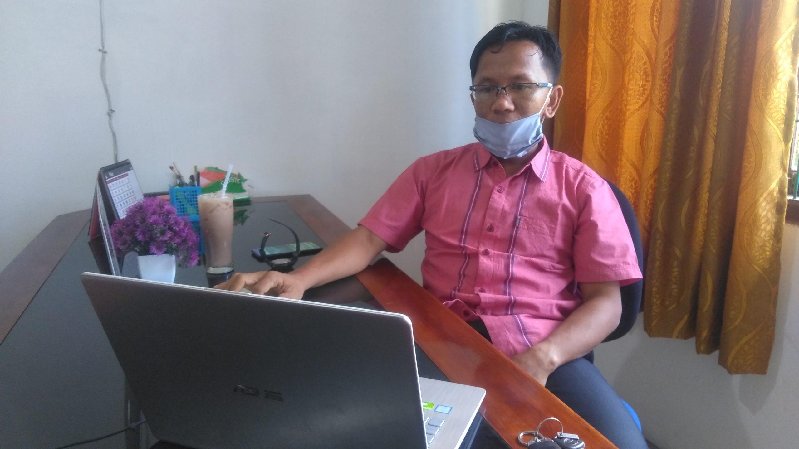 Komisioner Divisi Pendidikan Pemilih, Partisipasi Masyarakat dan Sumberdaya Manusia KIP Aceh Barat, Saiful Asra, M.Soc.Sc