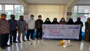 Kagama Aceh Sumbang 814 Paket Untuk Terdampak Covid 19