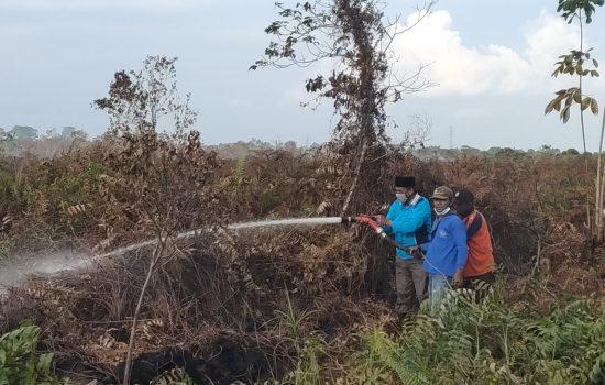 KARHUTLA Seluas 15 Hektar Kembali Terjadi di Aceh Barat