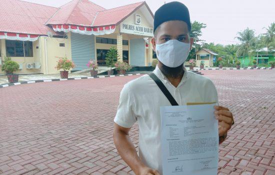 Lakukan Pencemaran Nama Baik, Akun Facebook Ayat Ayat Cinta Dilaporkan ke Polres Aceh Barat