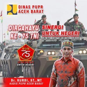 Iklan PUPR, Ucapan hari TNI