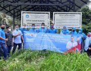 Peringati HUT ke-1, Partai Gelora Aceh Besar Ziarah  Makam Pahlawan dan Gelar Baksos