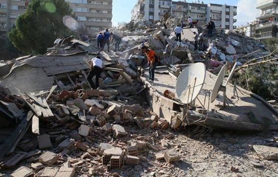 Gempa 7.0 Magnitudo Guncang Turki