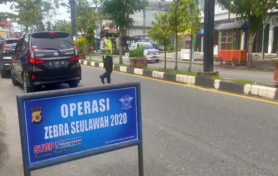 Tingginya Angka Kecelakaan, Satlantas Aceh Barat Gelar Razia Dua Minggu
