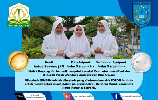 3 Pelajar Aceh Boyong Delapan Medali Di Olimpiade SBMPTN 2020