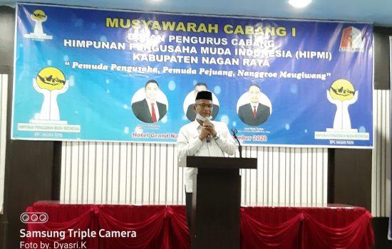 Bupati Nagan Raya, H.M Jamin Idham, SE