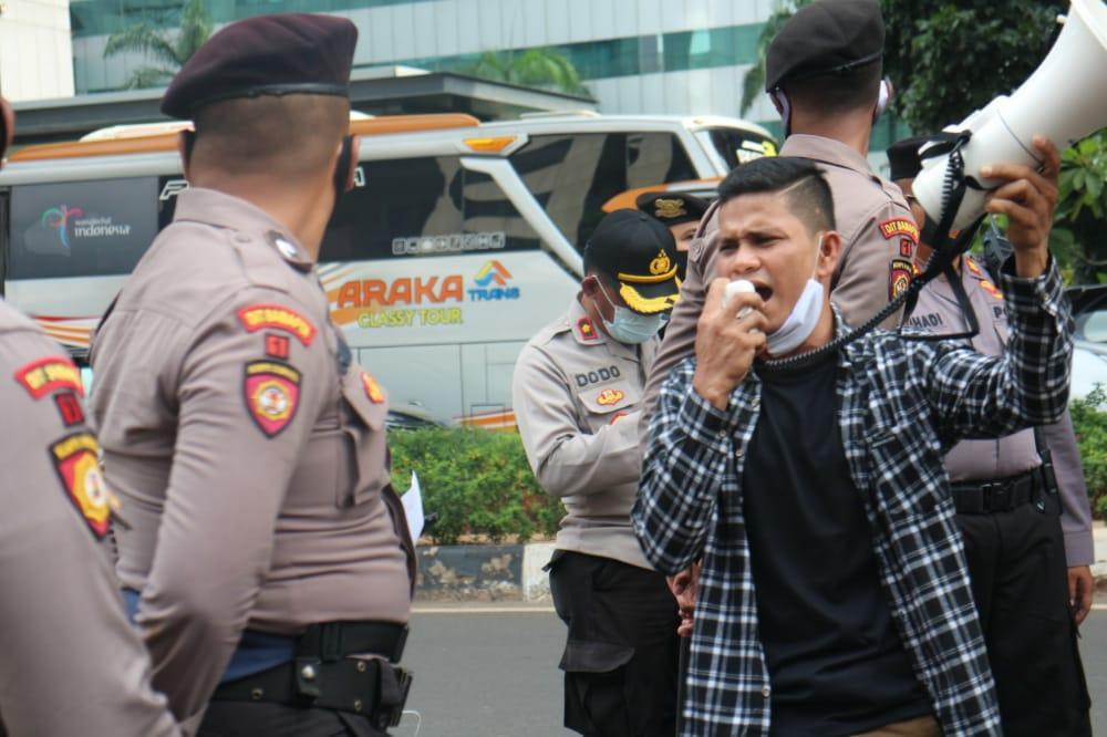 Gruduk Mabes Polri, KBMA Nusantara Minta Kapolda Aceh Di Copot