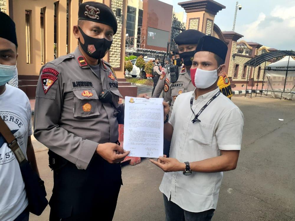 Perwakilan MABES POLRI Terima Petisi dari KBMA Nusantara