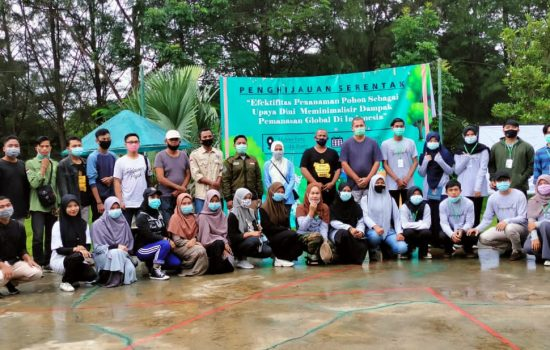 Meminalisir Dampak Pemanasan Global, IMAHAGI Wilayah 1 Sumatera Lakukan Penanaman Serentak
