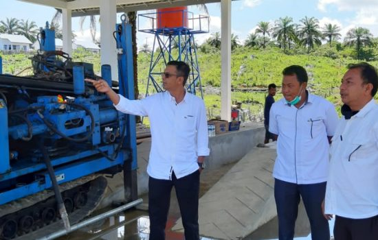 Pemkab Nagan Raya Terima Bangunan Instalasi Pengolahan Lumpur Tinja Dari kementerian PU
