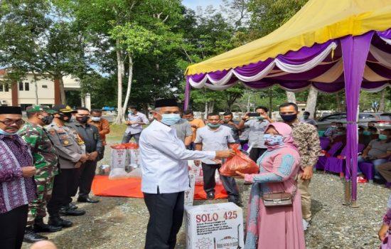 Bupati Nagan Raya serahkan Bantuan Saprodi dan Agroinput untuk Para Petani