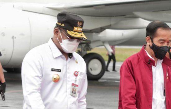 Pj.Gubernur Kalsel : Dalam pembangunan Infrastruktur Sangat Penting Pemerintah Pusat