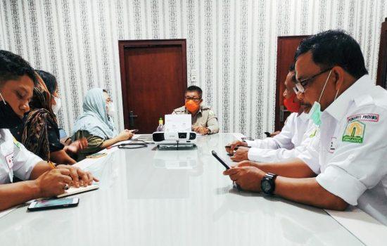 PMI dan BPBA Bahas Penanganan Rohingya