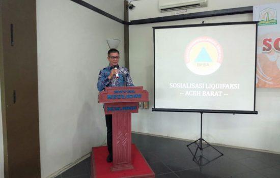 BPBA Sosialisasikan Hasil Kajian Liquifaksi Kota Meulaboh