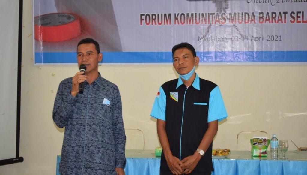 WABUP Aceh Barat dan DPRA Ingatkan Peserta Training KMBSA