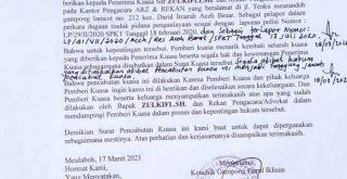 Kantor Hukum ARZ dan Rekan Akhiri Dampingi Tgk.Janggot